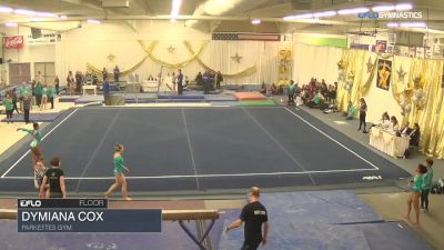 Dymiana Cox - Floor, Parkettes Gym - 2018 Parkettes Invitational