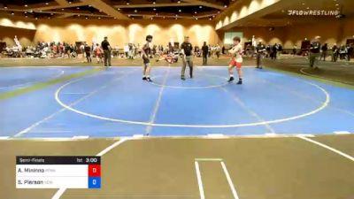 57 kg Semifinal - Antonio Mininno, Pennsylvania RTC vs Sean Pierson, New Jersey RTC