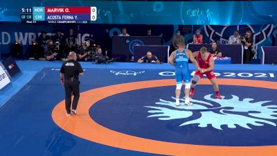 130 kg Final 3-5 - Oskar Marvik, Norway vs Yasmani Acosta Fernandez, Chile