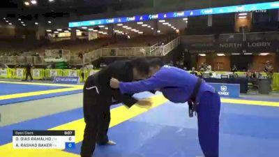 DIEGO DIAS RAMALHO vs AUSTIN RASHAD BAKER 2021 Pan Jiu-Jitsu IBJJF Championship