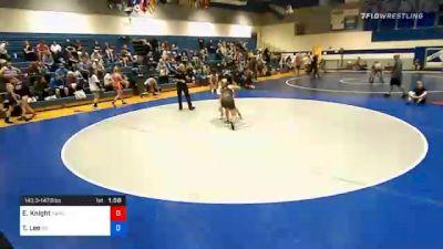 143 lbs Prelims - Emily Knight, Kansas City Training Center vs Tasia Lee, Gold Standard