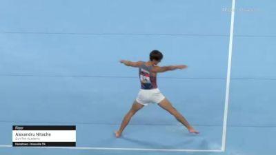 Alexandru Nitache - Floor, GymTek Academy - 2021 US Championships