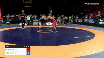 79 kg Consi 16 #2 - Muhamed McBryde, New York Athletic Club vs Joey Lavallee, Titan Mercury Wrestling Club