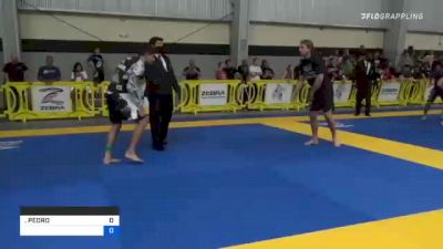 PEDRO HENRIQUE MONTEIRO vs RHENAN HENRIQUE C S SILVA 2021 Pan IBJJF Jiu-Jitsu No-Gi Championship