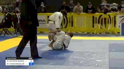 WILLIS DA MOTA NUNES vs MATHEUS VIANA MAGALHÃES 2020 Pan Jiu-Jitsu IBJJF Championship