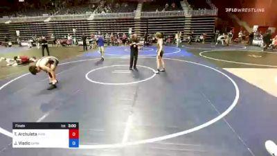 132 kg Final - Tyler Archuleta, Purebred Elite vs Jalen Vladic, Darkhorse WC