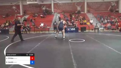 130 kg Consolation - Jayl'on Chiles, Oklahoma vs Riley Smith, Navy-Marine Corps Mat Club