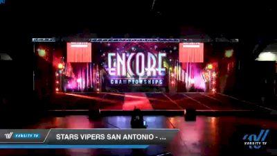 Stars Vipers - San Antonio - V3NOM [2020 L3 Junior - Small Day 2] 2020 Encore Championships: Houston DI & DII