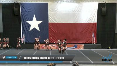 Texas Cheer Force Elite - FIERCE [2021 L3 Junior - D2 - B Day 2] 2021 ACP Power Dance Nationals & TX State Championship
