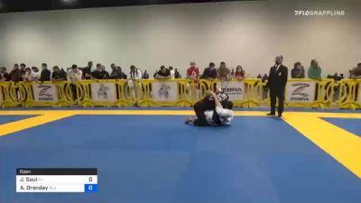 Javier Zaruski vs Austin Oranday 2020 Atlanta International Open IBJJF Jiu-Jitsu Championship