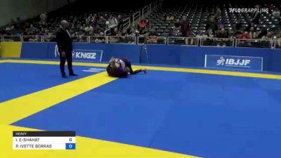 IBTISAM YASSIN EL-SHAHAT vs PAIGE IVETTE BORRAS 2021 World IBJJF Jiu-Jitsu No-Gi Championship