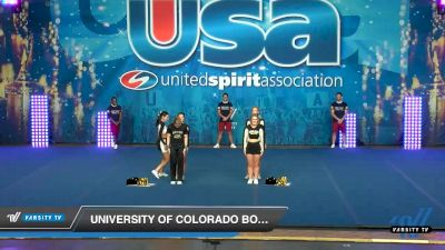 University of Colorado Boulder [2020 Small Co-Ed Show Cheer 4-Year College -- Division I Day 2] 2020 USA Collegiate Championships
