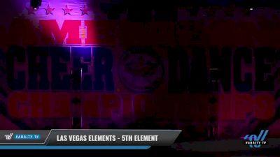Las Vegas Elements - 5th Element [2021 L5 Senior Coed - D2 - Small Day 2] 2021 The American Celebration DI & DII