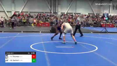 149 lbs Consolation - Brock Zacherl, Clarion vs Yahya Thomas, Northwestern