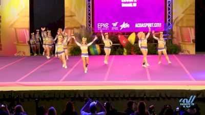 JMU Club Cheer - Competitive Cheer [2018 Collegiate--All-Girl--Large Day 1] ACDA Reach The Beach OC All Star and College Nationals