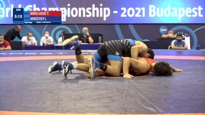 71 kg Repechage #2 - Tornike Mikeladze, Georgia vs Irfan Mirzoiev, Ukraine