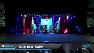 Cayla's Stars - Hazard [2021 L4.2 Senior Coed - D2 Day 2] 2021 The American Gateway DI & DII