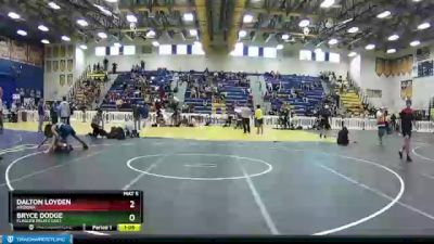 170 lbs Quarterfinal - Bryce Dodge, Flagler Palm Coast vs Dalton Loyden, Arizona