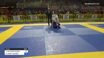 THOMAS ANTHONY RUBIO vs MAURICIO RODY SOARES 2021 Pan Kids Jiu-Jitsu IBJJF Championship
