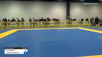 ROBERT G. MALOF vs JONNATAS GRACIE ARAUJO DA SILVA 2020 IBJJF Pan No-Gi Championship