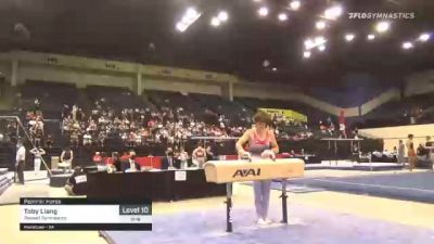 Toby Liang - Pommel Horse, Roswell Gymnastics - 2021 USA Gymnastics Development Program National Championships