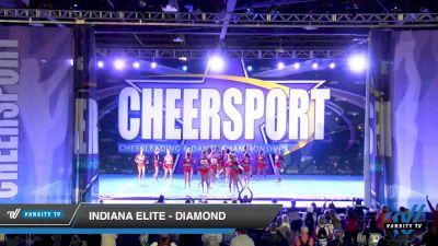 Indiana Elite - Diamond [2020 Senior Medium 4 Day 2] 2020 CHEERSPORT National Cheerleading Championship