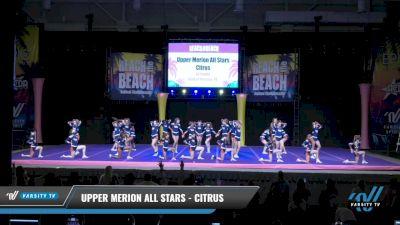 Upper Merion All Stars - Citrus [2021 L6 Junior Day 1] 2021 ACDA: Reach The Beach Nationals