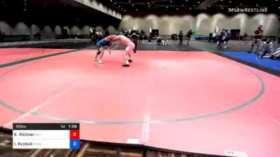182 lbs 3rd Place - Ethan Richner, M2 Training Center vs Ismail Ayyoub, Canada
