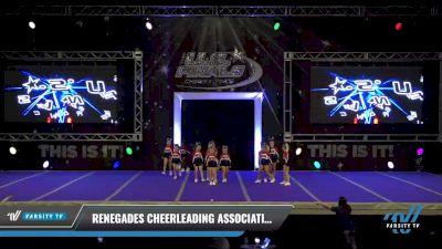 Renegades Cheerleading Association - Sparklers [2021 L1 Mini - Novice Day 1] 2021 The U.S. Finals: Ocean City