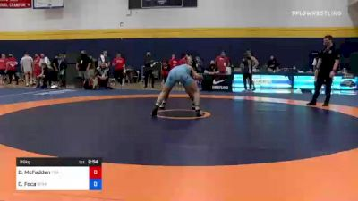 86 kg Round Of 16 - David McFadden, Titan Mercury Wrestling Club (TMWC) vs Christopher Foca, Spartan Combat RTC