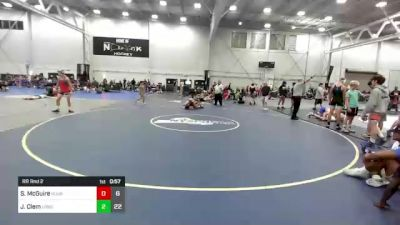 123 lbs Rr Rnd 2 - Shawn McGuire, Ground Up USA vs Joe Clem, Long Island Gladiators