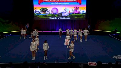 University of West Georgia [2019 All Girl Division I Finals] UCA & UDA College Cheerleading and Dance Team National Championship
