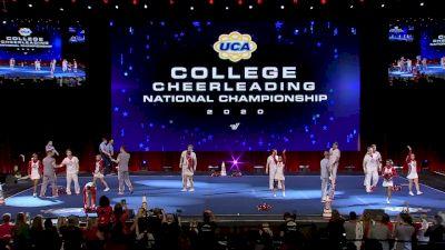 The Ohio State University [2020 Cheer Division IA Semis] 2020 UCA & UDA College Nationals
