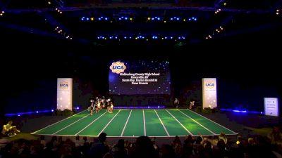 Muhlenberg County High School [2020 Junior Varsity Non Tumbling Game Day Finals] 2020 UCA National High School Cheerleading Championship
