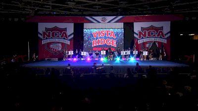 Vista Ridge High School [2020 Game Day Cheer - Large Varsity] 2020 NCA High School Nationals