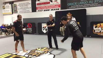 Valdir Araujo vs Johnny Tama Jitzking 185lb Tournament