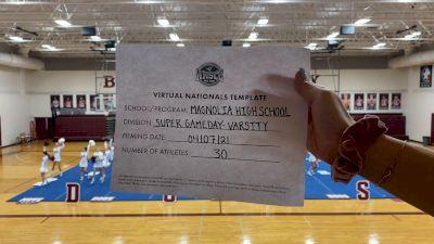 Magnolia High School [Virtual Super Varsity - Game Day Semi Finals] 2021 UCA National High School Cheerleading Championship