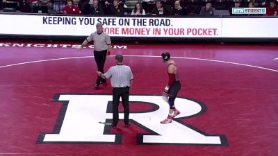 197 lbs: Nick Willham, Indiana vs Jordan Pagano, Rutgers
