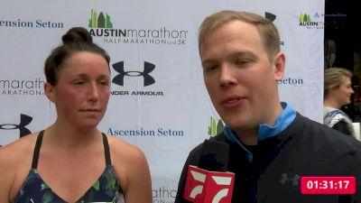 Allie Kieffer | Women's Half Marathon Winner