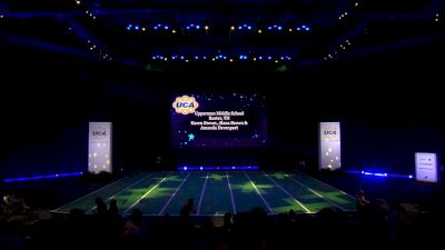 Upperman Middle School [2020 Junior High Non Tumbling Game Day Finals] 2020 UCA National High School Cheerleading Championship