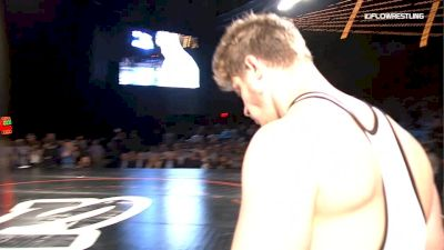 125 kg Nick Gwiazdowski (Wolfpack WC) vs. Derek White (Cowboy RTC)