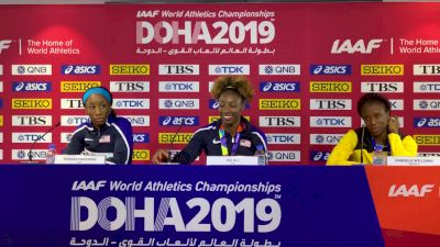 Nia Ali 100m Hurdles Press Conference
