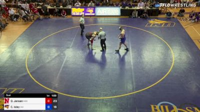Carter Isley (Northern Iowa) vs Christian Lance (Nebraska)