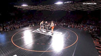 86 kg Drew Foster (PWC) vs. David Taylor (NLWC)