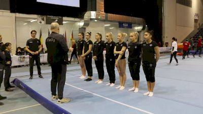 Italy's Warmup - Training Day 3, 2019 City of Jesolo Trophy