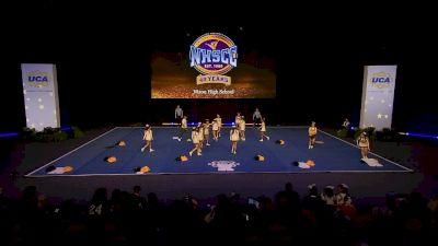Nixon High School [2020 Small Coed Non Tumbling Semis] 2020 UCA National High School Cheerleading Championship