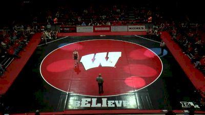 184lbs Match: Taylor Venz, Nebraska vs Tyler Dow, Wisconsin