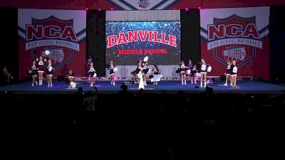 Danville Middle School - Wolves [2020 Game Day Junior High/Middle School Finals] 2020 NCA High School Nationals