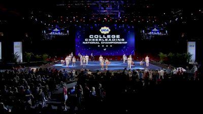 University of West Georgia [2020 Cheer Division II Semis] 2020 UCA & UDA College Nationals