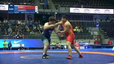 130 kg Gold - Cohlton Shultz, USA vs Lu Zhang, CHN